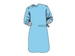 Plášť operační PRIMA M sterilní modrý Dina 1ks
