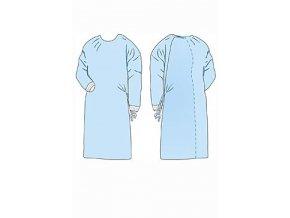 Plášť operační Opero Standard M sterilní modrý MM ks