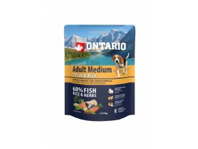 ontario adult medium fish rice 0 75 kg original
