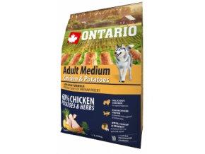 ontario adult medium chicken amp potatoes 2 25 kg default