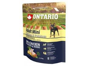 ontario adult mini chicken potatoes 0 75 kg original