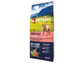 ontario adult large lamb rice 12kg original