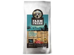 Farm Fresh Scandinavian Reindeer and Rice Weight Control & Senior 5kg