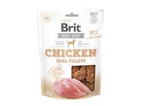 Brit Jerky Chicken Fillets 80g