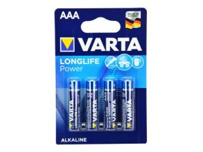 VARTA Baterie Longlife Power AAA 4ks