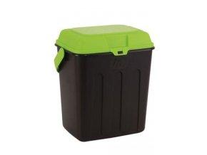 MAELSON Box na granule černá/zelená 3,5kg