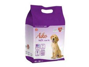 Podložka absorbční pro psy Aiko Soft Care 60x58cm 30ks