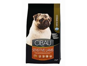 CIBAU Adult Sensitive Lamb&Rice Mini 2,5kg