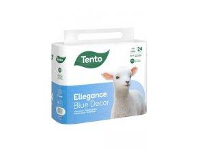 Wc toaletní papír TENTO Ellegance Cool Aqua 3V 24ks