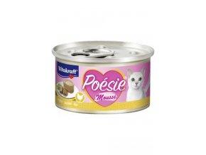 Vitakraft Cat Poésie konz. kuře a krůta v omáčce 85g