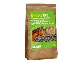 Pochoutka pro koně DELIZIA BIO Bronchial 1kg