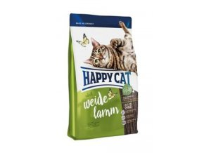 Happy Cat Supr.Adult Fit&Well Weide-Lamm 10kg