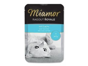 Miamor Cat Ragout kapsa losos v želé 100g