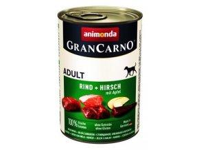 Animonda GRANCARNO konz. ADULT jelen/jablko 400g
