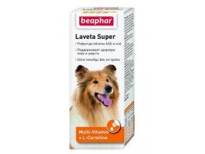 Beaphar Laveta Super vit. vyživující srst pes 50ml