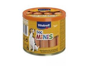 Vitakraft Dog pochoutka Snack Minis Chicken párky 12ks