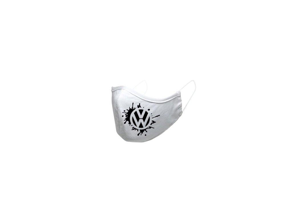 volkswagen rusko s gumou biele