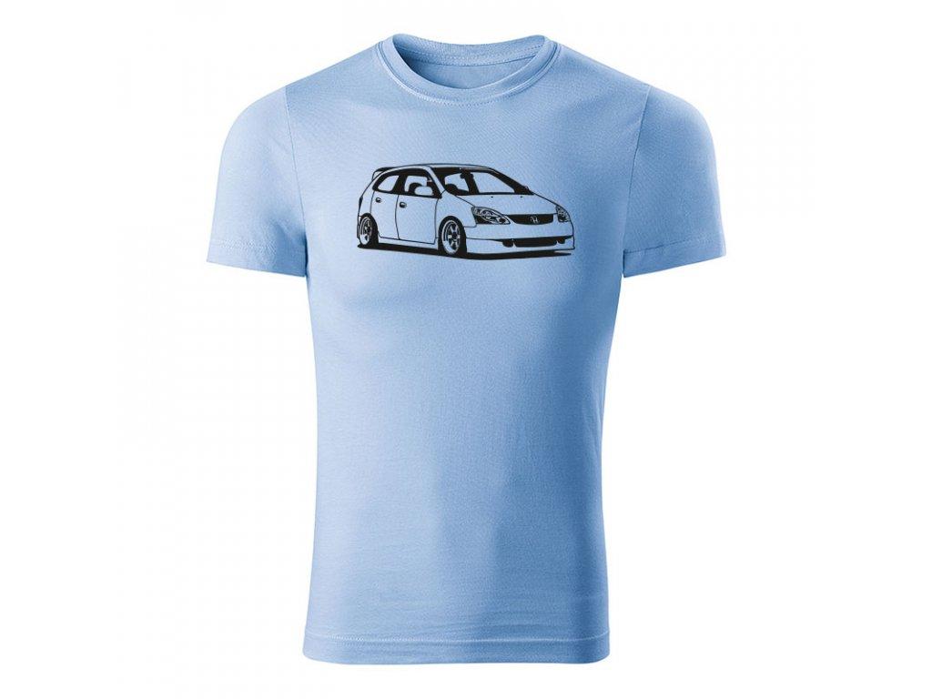 Honda Civic 7g 5 dverová pánske tričko