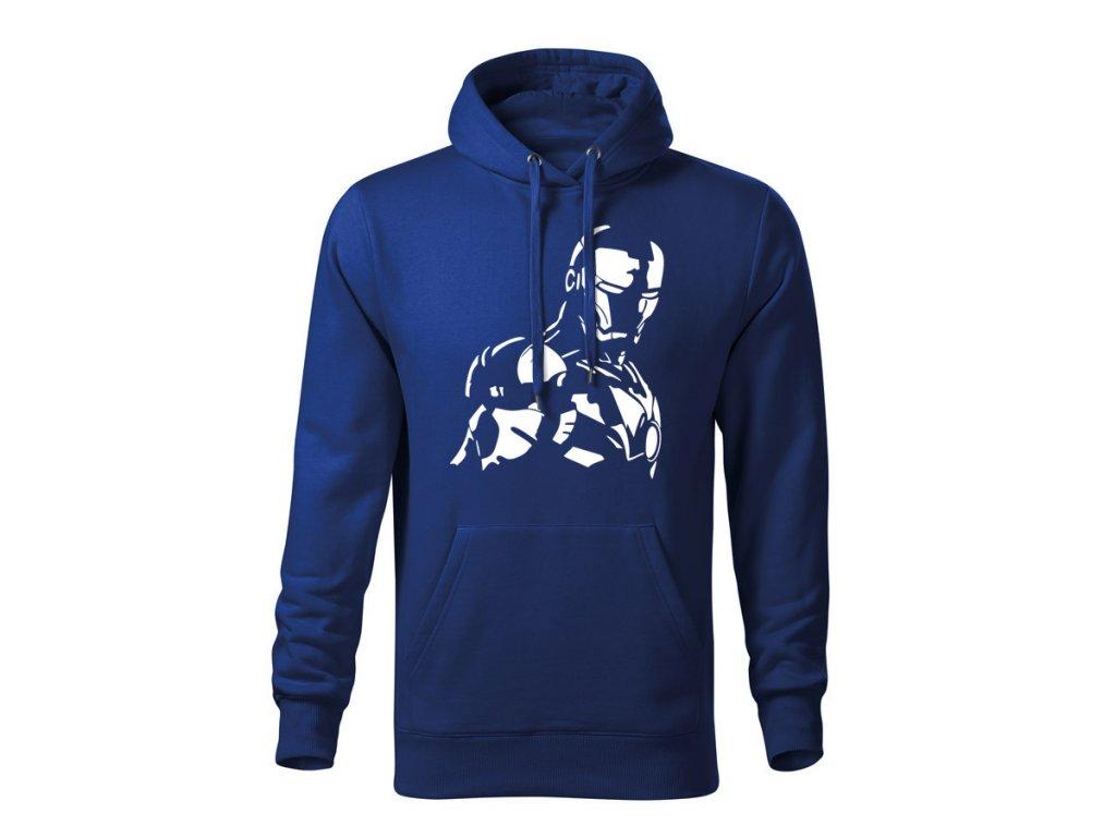 ironman panska mikina 2 kralovska modra