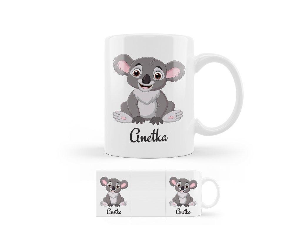 koala hrnček