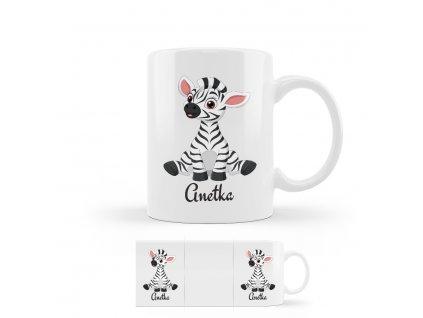 zebra hrncek