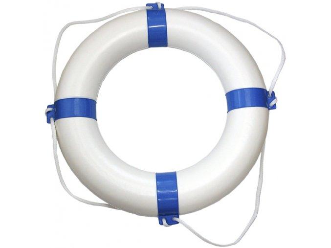 Záchranný kruh bílomodrý