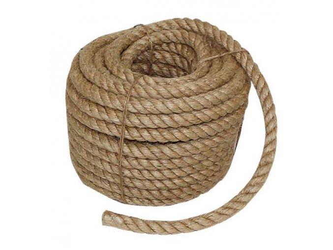 Konopné lano 20 m - 15mm