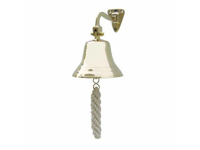 Lodní zvon mosazný - odlehčený - 10 cm