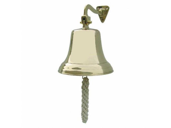 Lodní zvon mosazný - odlehčený - 17,5 cm
