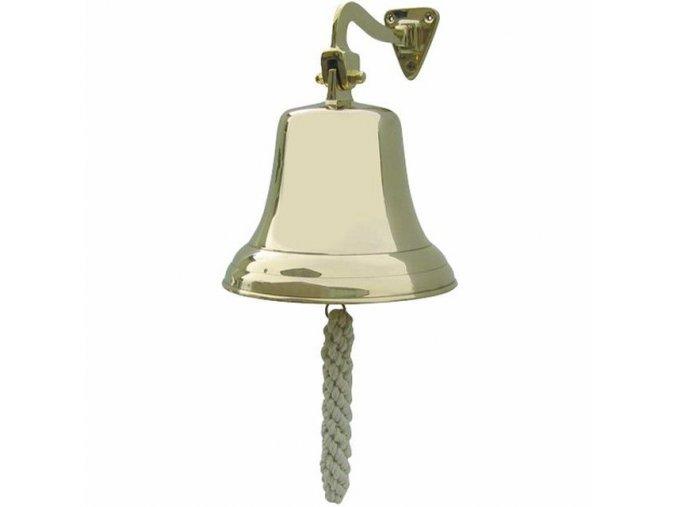 Lodní zvon mosazný - odlehčený - 19,5 cm