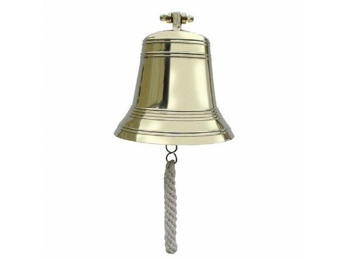 Lodní zvon mosazný - 22,5 cm