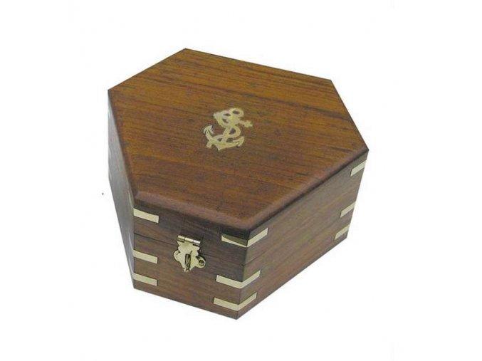 Dřevěný box pro sextant 8200S