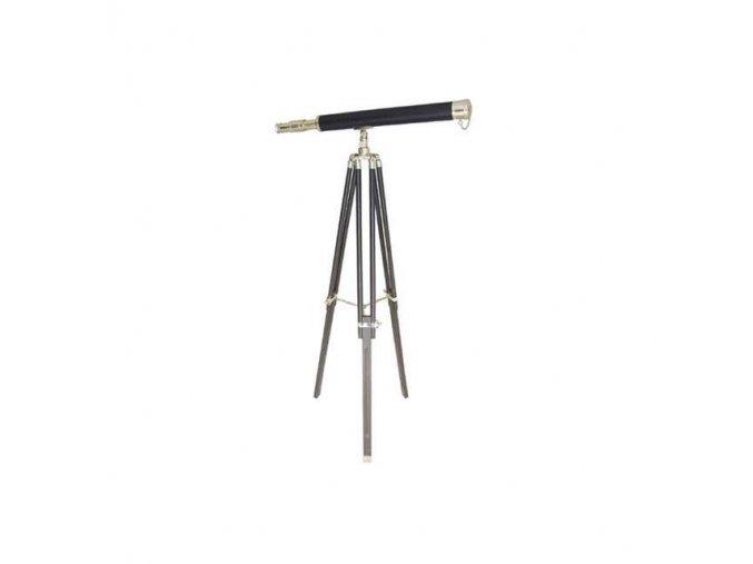 Mosazný retro dalekohled 69 cm - stativ