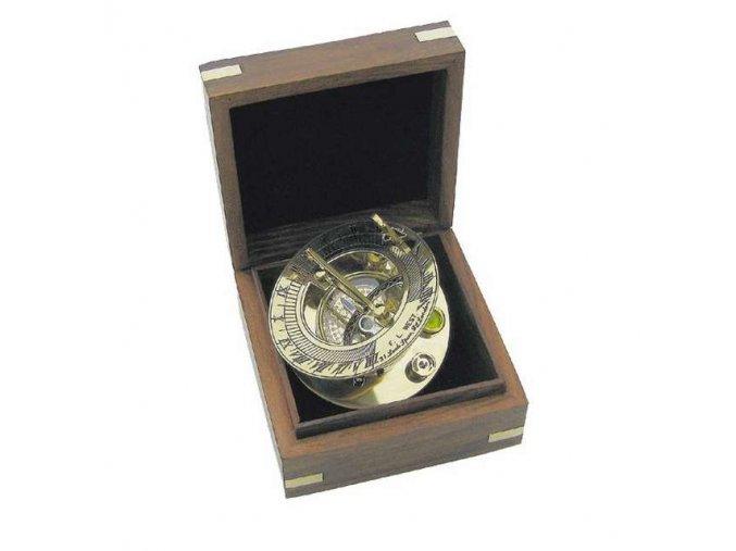 Sluneční hodiny + kompas