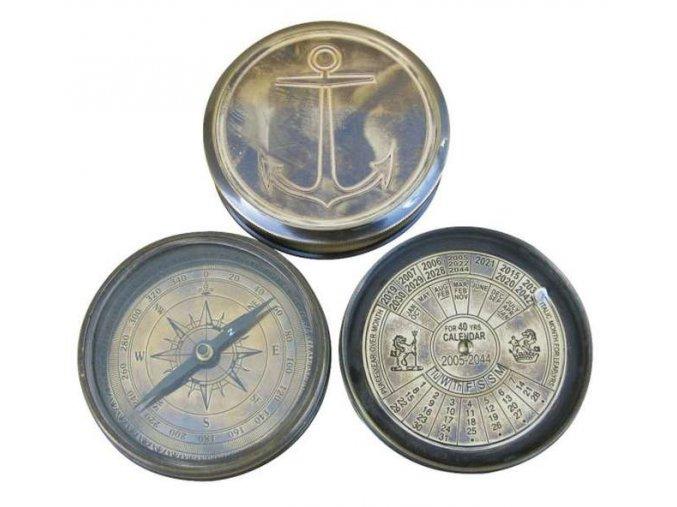 Kompas s kalendářem