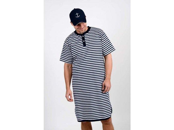 Pruhované námořnické pyžamo