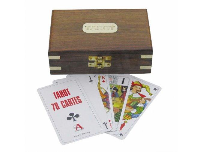 Tarot - vykladací karty v krabičce