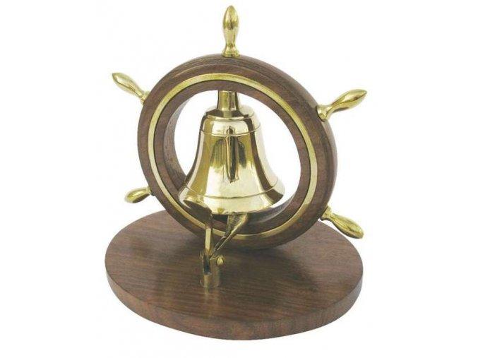 Zvonek stolní - kormidlo.