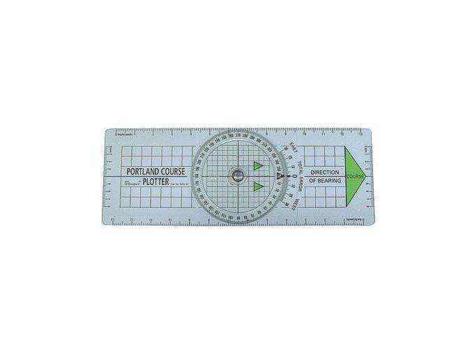 Navigační pravítko - kursploter Portland