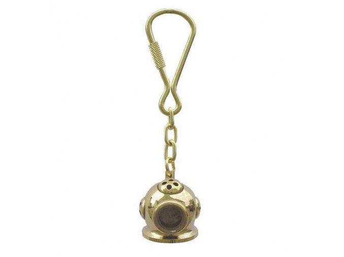 Přívěšek  na klíče potápěčská helma