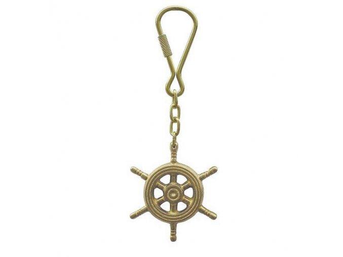 Přívěšek na klíče kormidlo
