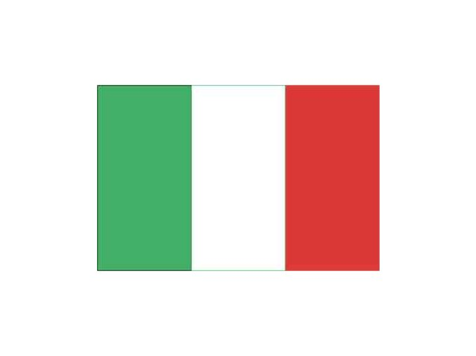 Vlajka Itálie 20x30cm