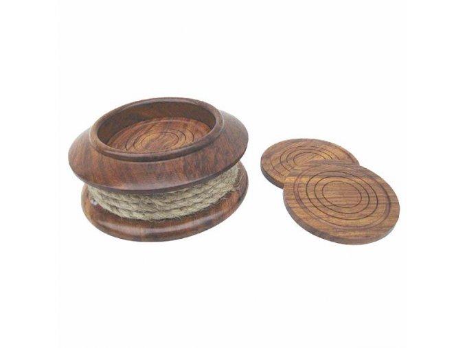 Dřevěné podšálky