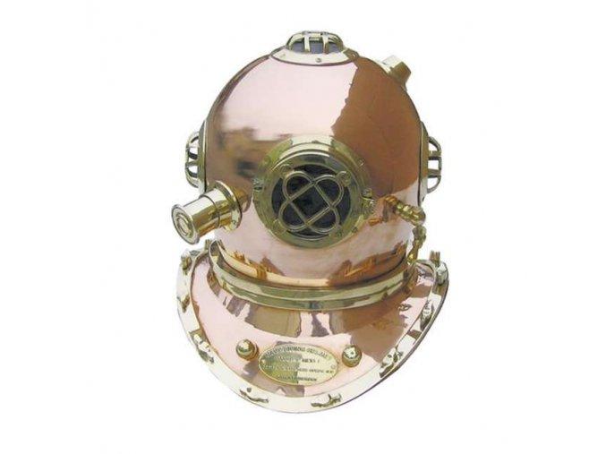 Potápěčská helma 48 cm
