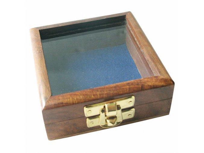 Krabička prosklená