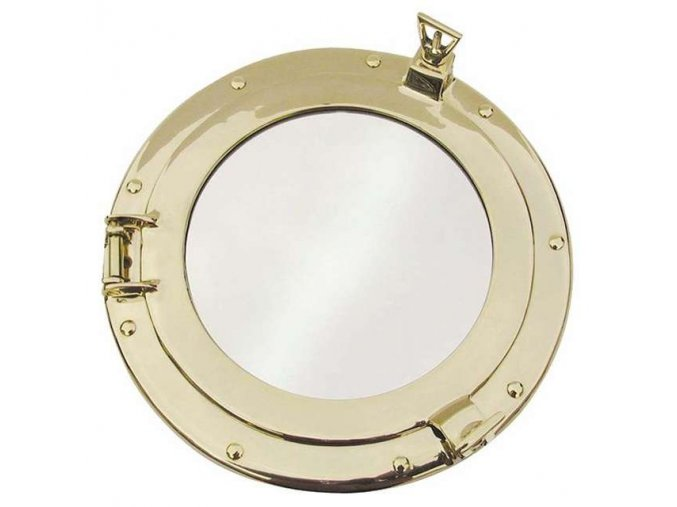 Zrcadlo mosazné