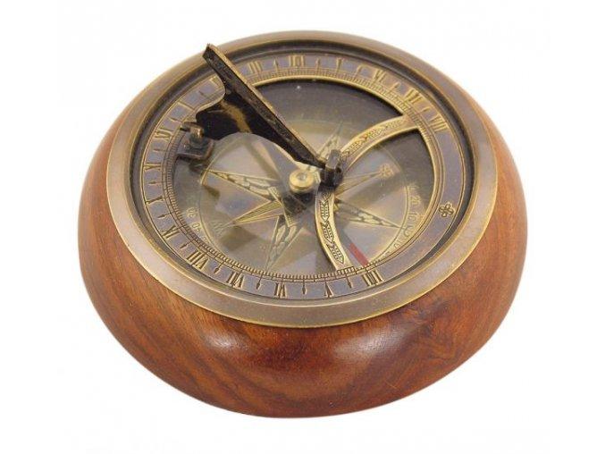 Kompas+sluneční hodiny