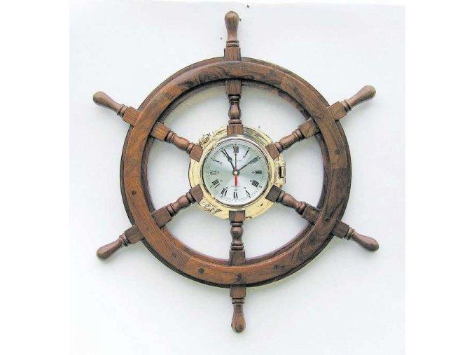 Mosazné hodiny v kormidle 1209