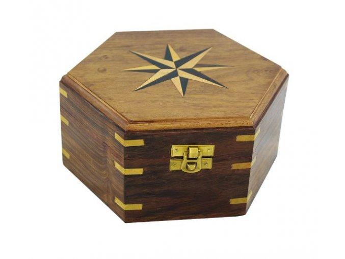Krabice ozdobná