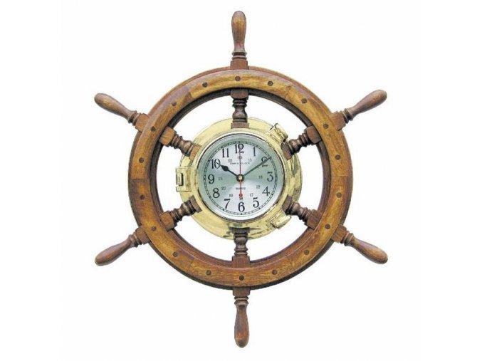 Mosazné hodiny v kormidle 1210
